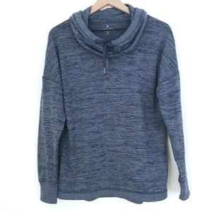 ATHLETA Blissful Cowl Pullover Popover Sweatshirt